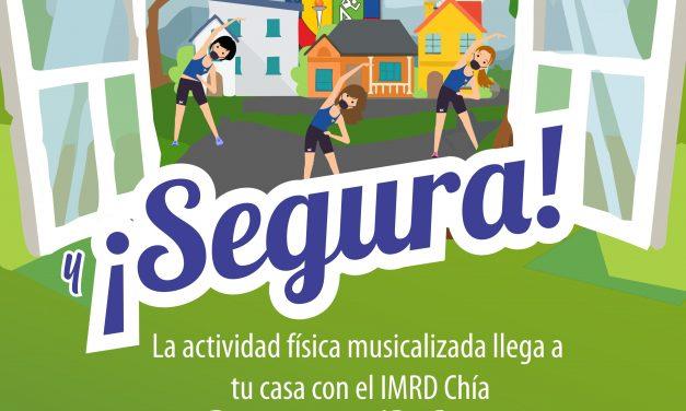 """""""Ventana Activa y Segura"""" el IMRD a los barrios de Chía"""