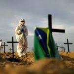 Brasil reporta 20.286 nuevos casos y 733 muertes por coronavirus