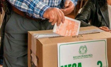 Elecciones atípicas en cuatro municipios del país este 30 de agosto