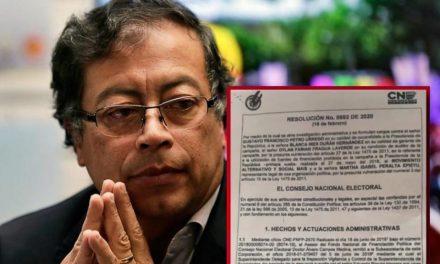 CNE abre investigación a Petro por presuntas irregularidades en financiación de campaña