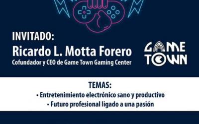 """""""Sanas Prácticas y Nuevas Profesiones alrededor de los Videojuegos""""."""