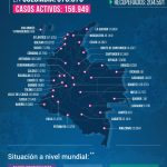 Coronavirus: Recuperados llegan a 204.591; van 12.540 fallecimientos