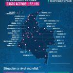 Colombia cerca de 398.000 personas contagiadas de Coronavirus