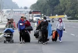 Miles de venezolanos no pueden entrar a su país
