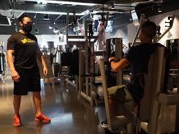 Reactivación de gimnasios y escuelas de formación deportiva