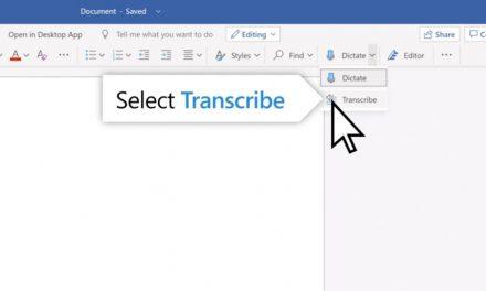 Microsoft Word ahora puede transcribir conferencias y llamadas telefónicas