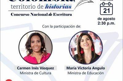 Concurso Nacional de Escritura: Colombia, Territorio de Historias