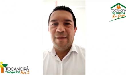 Alcalde de Tocancipá positivo en covid 19