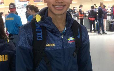 Ronald Salla, en pre selección Colombia de atletismo rumbo al Mundial Sub 20