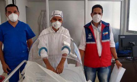 Iglús para realizar procedimientos a pacientes con coronavirus