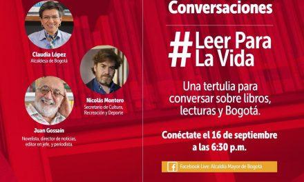 Juan Gossaín, el invitado de la tertulia 'Leer para la Vida'