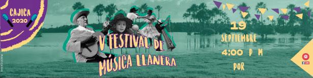 Cajicá realizará el sábado 19 de septiembre la quinta versión de su Festival de Música Llanera.