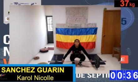 Karol Nicoll Sánchez, Campeona Nacional Sub 15