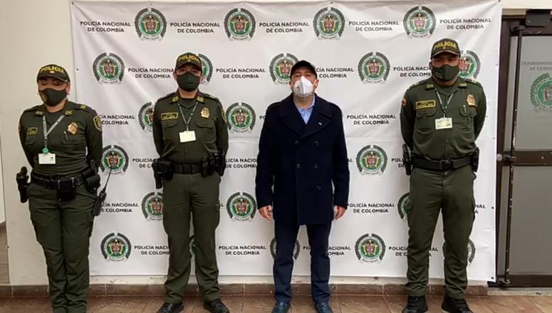 VÍDEO-  Alcalde de Cajicá Fabio Ramírez se pronuncia  acerca de las manifestaciones de los días anteriores,en compañía del Comandante de Policía Chía,Mayor Peña