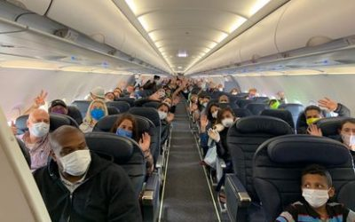 Balance positivo en el primer día de reactivación del transporte terrestre y aéreo en el país