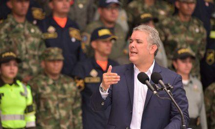 Presidente invita a los colombianos a expresar su gratitud este sábado a los miembros de la Fuerza Pública