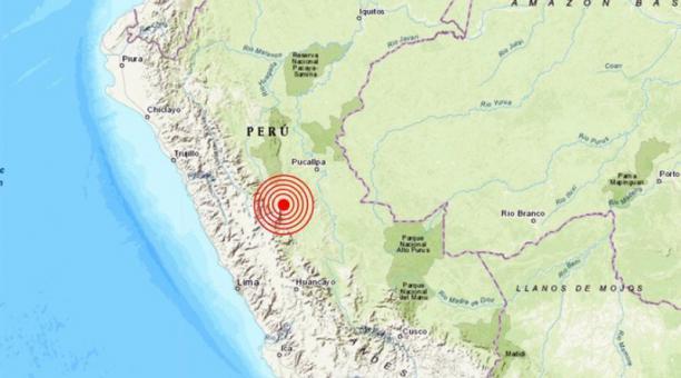 Sismo de magnitud 5,5 sacude Perú