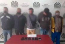 Desarticuladas cinco bandas de extorsionistas en Bogotá