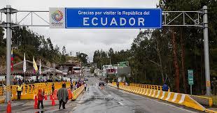 Gobierno estudia reapertura de la frontera con Ecuador en noviembre