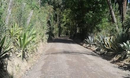 Mantenimiento en las vías del municipio de Chìa
