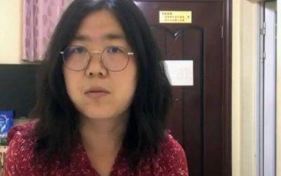 5 años de prisión para la periodista que anunció la aparición de la COVID-19 en Wuhan