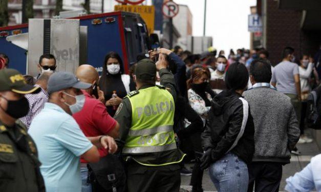 Casos activos en Colombia son 55.073, nuevos contagios 5.911