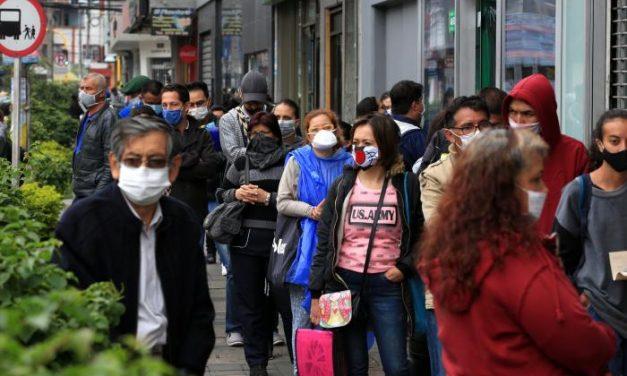 Colombia reportó  9.103 nuevos casos de coronavirus este sabado