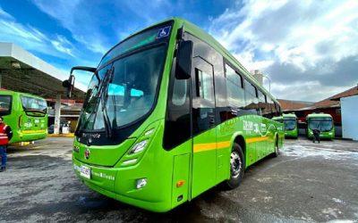Primera flota de buses eléctricos para Transmilenio en Bogotá