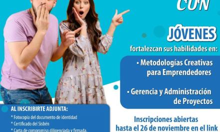 Oportunidad de estudio para los jóvenes de Chía, hoy vence plazo