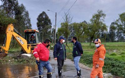 Alcaldía de Chía sigue atendiendo emergencias por lluvias