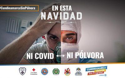 Este fin de año: ni Covid ni quemados en Cundinamarca