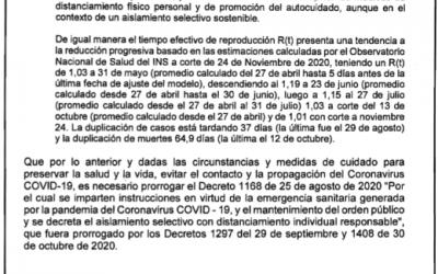 Prohibido el consumo de licor en establecimientos públicos, no habrán discotecas ni conciertos: decreto del Gobierno