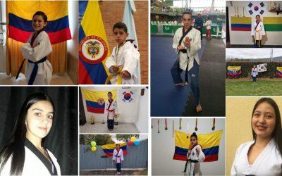 Taekwondo del IMRD, traspasa fronteras y obtiene excelentes logros para Chía