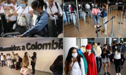 Gobierno elimina requisito de prueba COVID-19 a viajeros hacia Colombia
