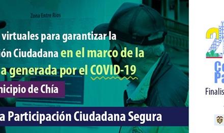 Chía, finalista del premio nacional 'Colombia Participa 2020'