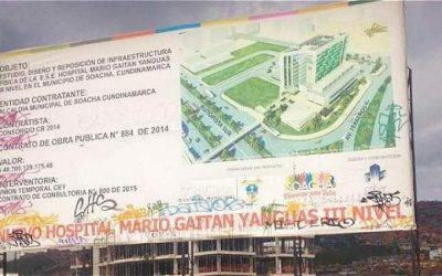 Contraloría de Cundinamarca identificó obras inconclusas por más de $97.129 millones de pesos en el Departamento