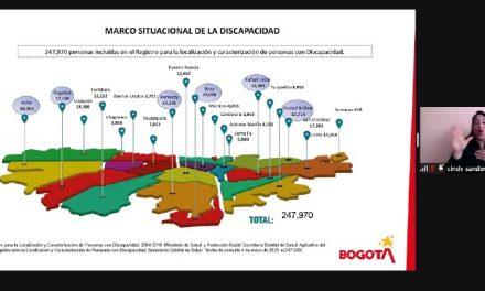 Población con Discapacidad expone sus recomendaciones en la elaboración de la Región Metropolitana