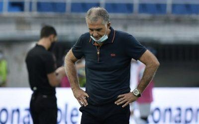 Carlos Queiroz dejó de ser el entrenador de Colombia