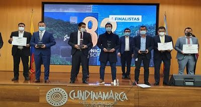 Premiación de los mejores Planes municipales de desarrollo en Cundinamarca