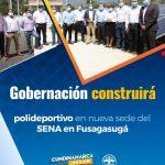 Gobernación construirá polideportivo en nueva sede del Sena en Fusagasugá