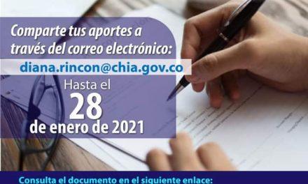 Plan anticorrupción y atención al ciudadano Chía