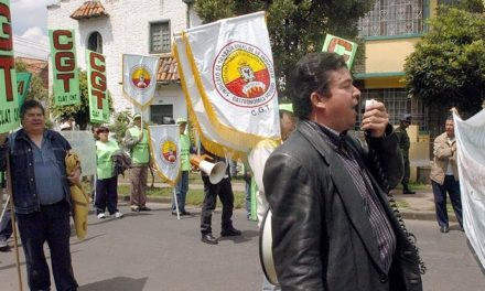 Fallece Julio Roberto Gómez, el líder sindical que llevó la bandera de las protestas en Colombia