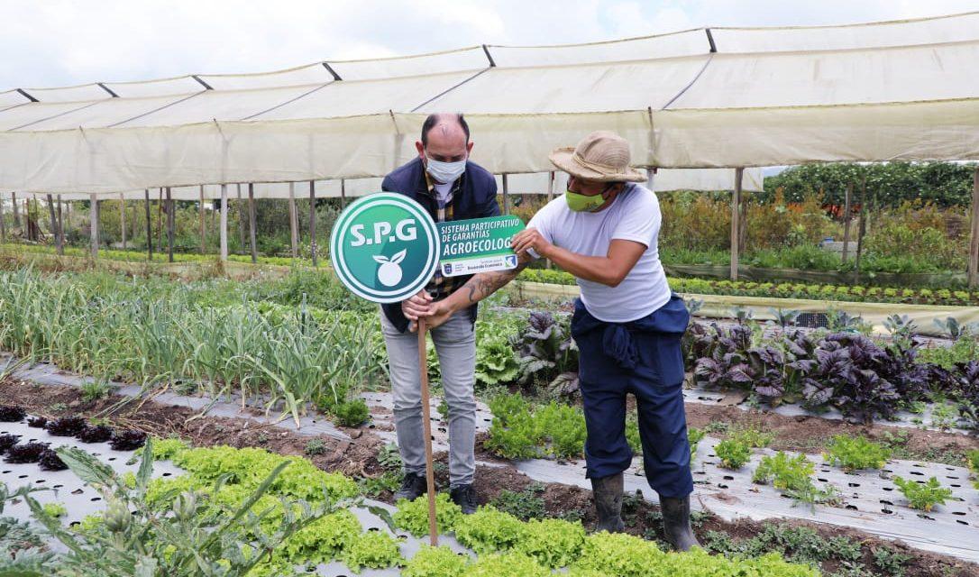 Chía certifica las primeras fincas agroecológicas del Municipio