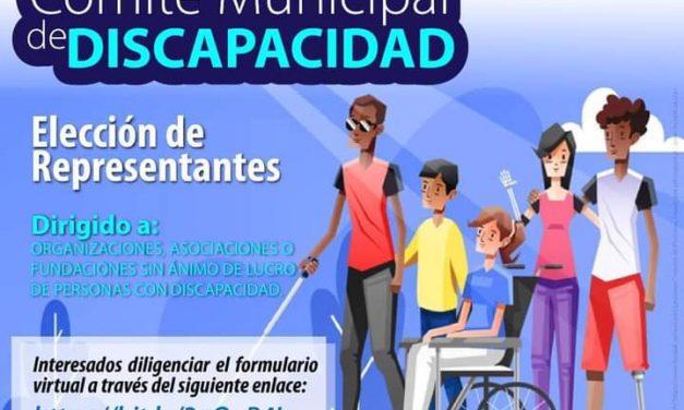 """Convocatoria """"Comité Municipal de Discapacidad"""""""