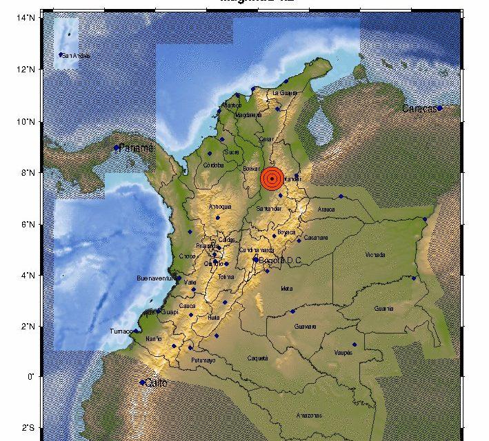 Tembló en Colombia en la madrugada de este sábado: van dos sismos en menos de 24 HORAS