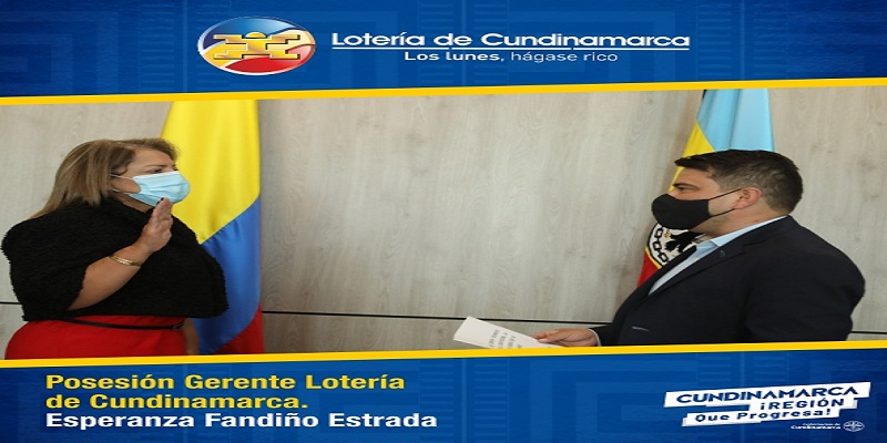 Nueva Gerente en la Lotería de Cundinamarca