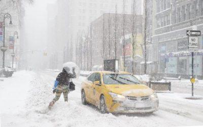 Un gran temporal cubre de nieve Nueva York y todo el noreste de EE.UU.