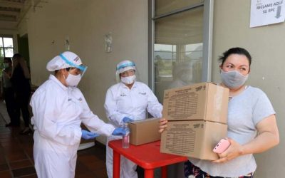 Cundinamarca cumple con entrega PAE en el municipio de Tabio