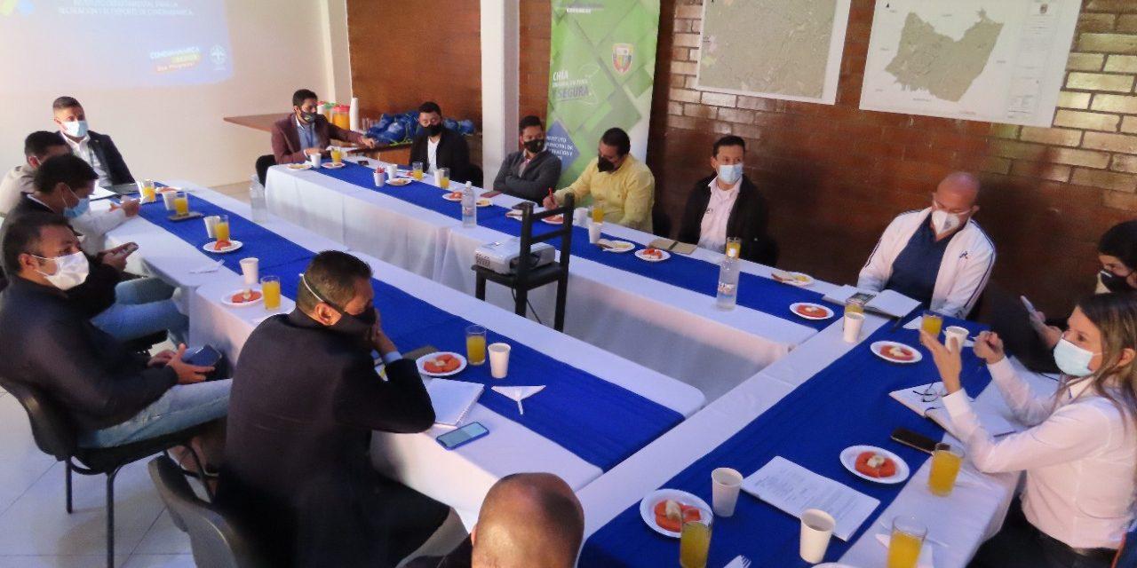 Indeportes Cundinamarca y Provincia de Sabana Centro, articulan trabajo rumbo a los Juegos Nacionales 2023