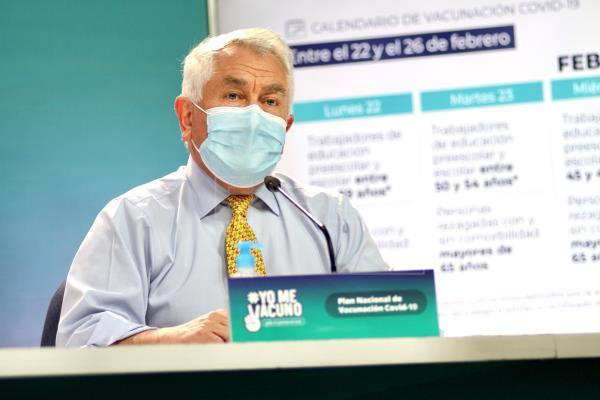 Mas de tres millones de vacunados en Chile